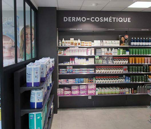Pharmacie en relief